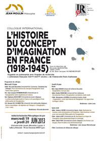 L'histoire du concept d'imagination en France