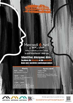 Identifier, désigner, être : la place du féminin et du masculin dans nos sociétés contemporaines - Mercredi 6 avril