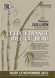 François JULLIEN, Cette étrange idée du beau