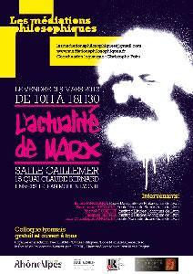 Colloque L'actualité de Marx