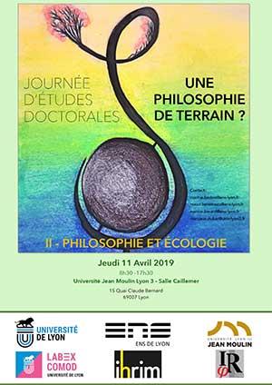 Journée d'étude doctorale - Philosophie et écologie