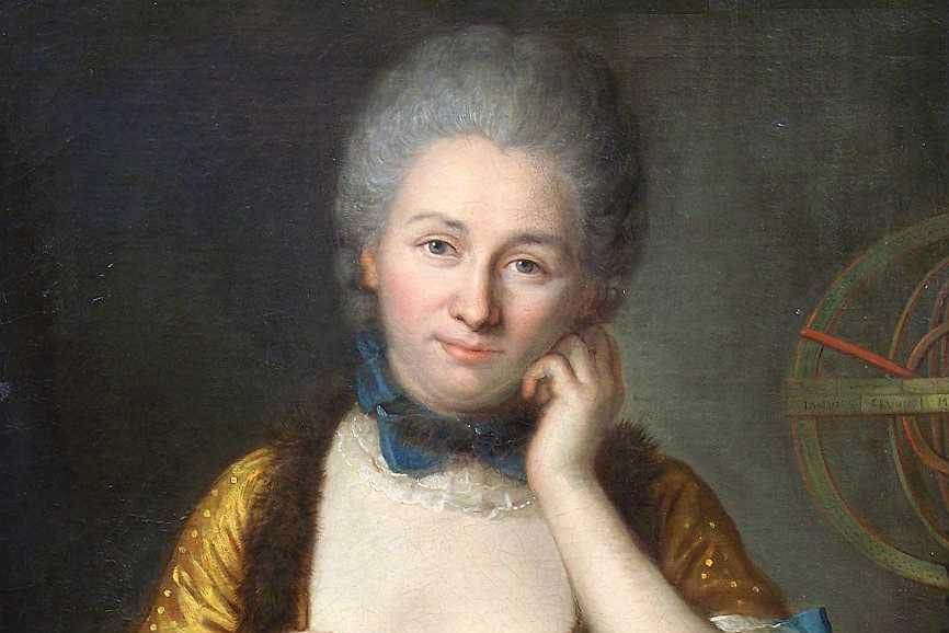 Émilie du Châtelet, par La Tour