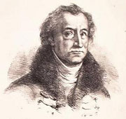 Johann Wolfgang von Goethe (par Delacroix)