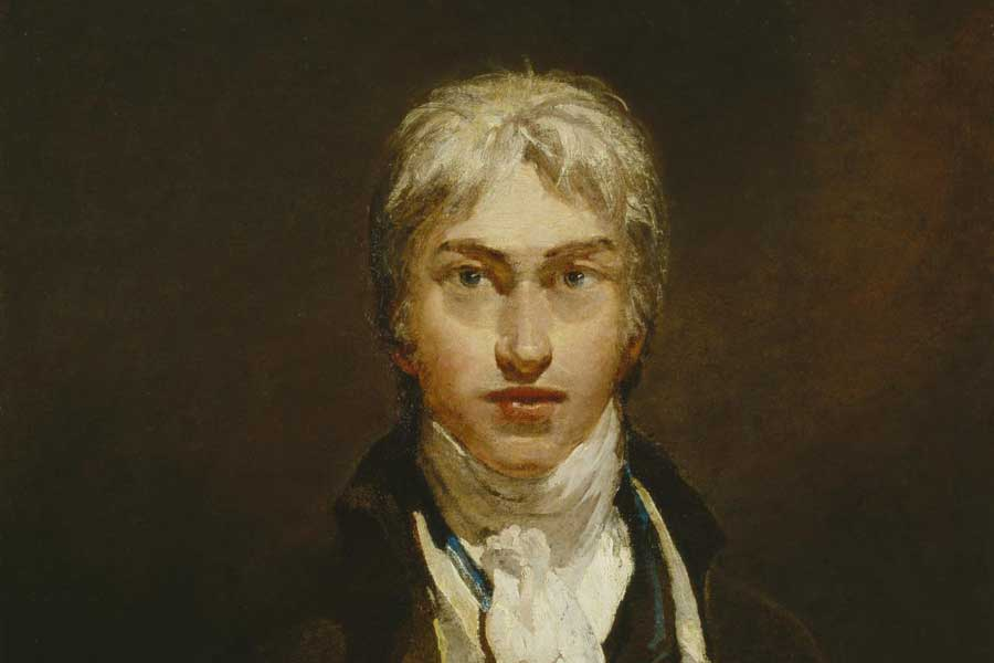 J. M. W. Turner. Self Portrait (1799)