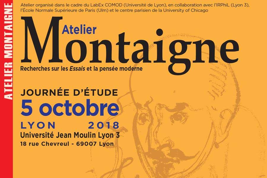 Atelier Montaigne - 5 octobre 2018