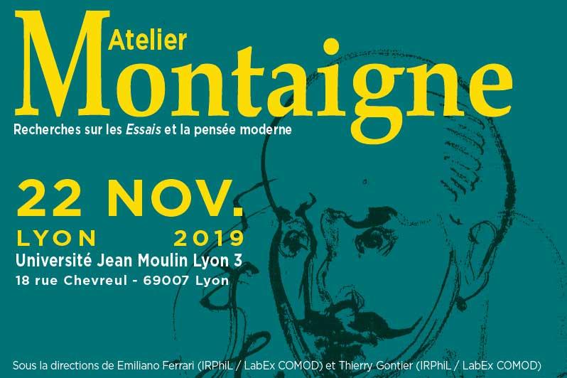 Atelier Montaigne - 22 novembre 2019