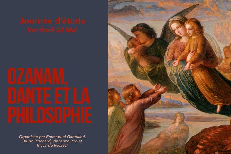Ozanam, Dante et la philosophie - Journée d'étude 24 mai 2019