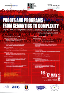 Proofs ans programs: from semantics to complexity
