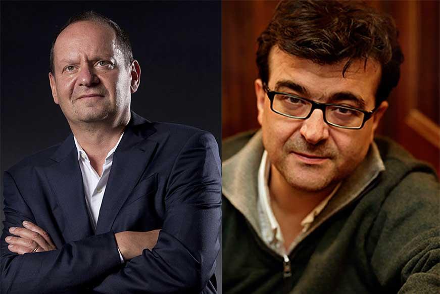 Philippe Sands et Javier Cercas