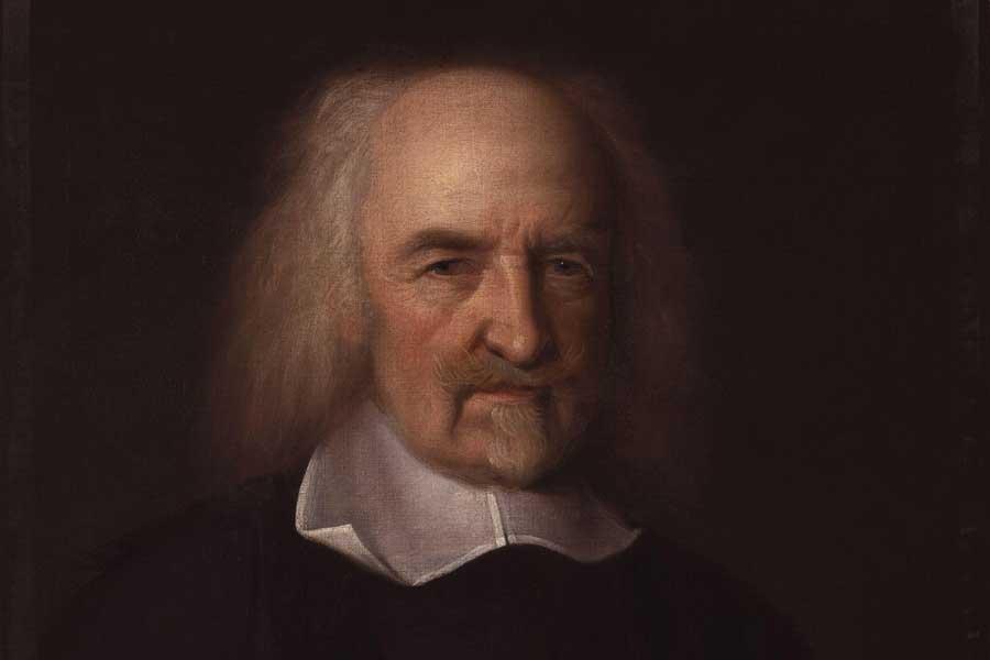 Thomas Hobbes (portrait de John Michael Wright)